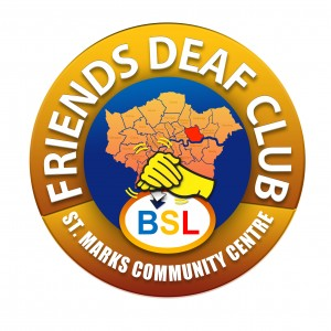friends deaf club logo